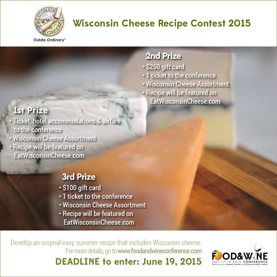Wisconsin Cheese Recipe Contest