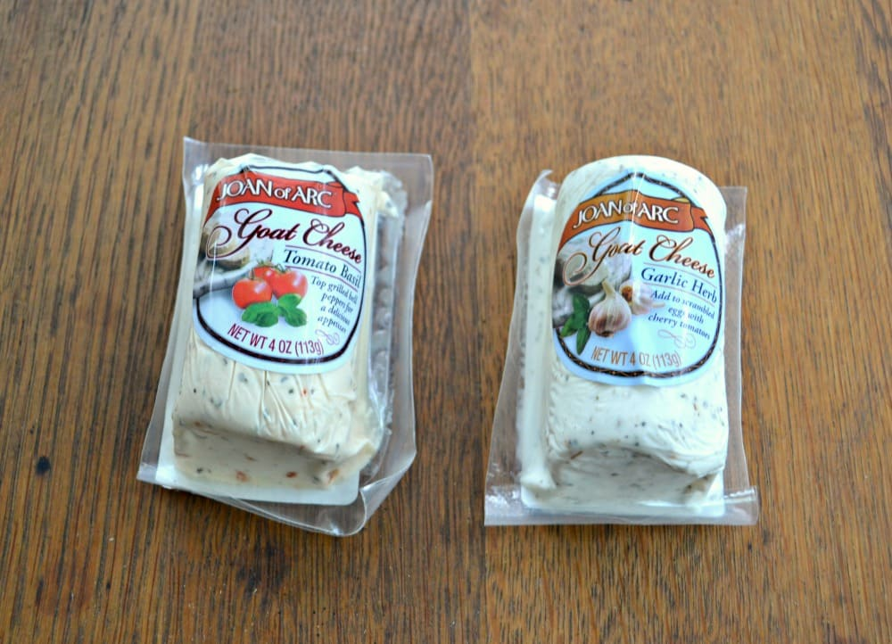 Joan of Arc Goat Cheese is delicious in appetizers, salads, and even entrees!