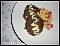 Black Bean Patties with Corn Relish & Avocado Cream