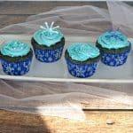 Blue Velvet Cupcakes #SundaySupper