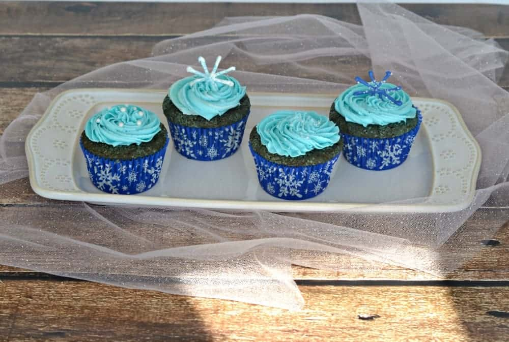 Fun and delicious Blue Velvet Cupcakes!