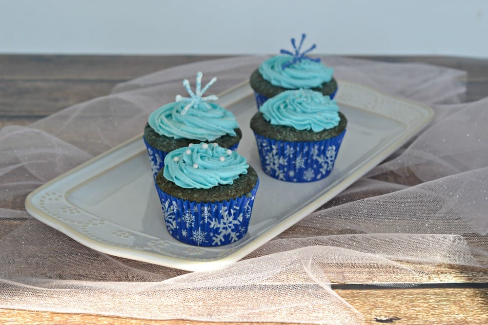Fun Blue Velvet Cupcake Recipe with Blue Frosting