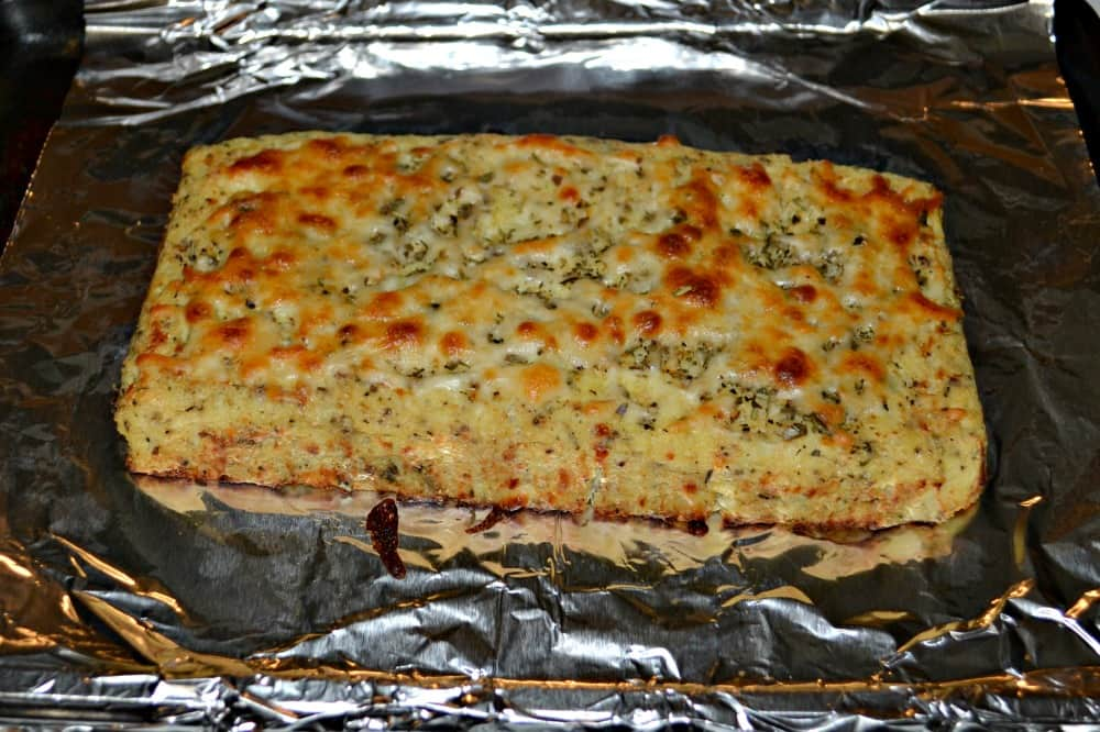 Cauliflower Breadsticks are gluten free and delicious!