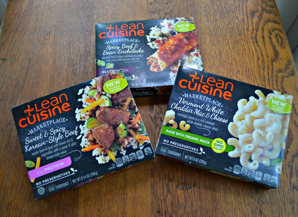 Lean Cuisine Marketplace Meals are a delicious lunch!