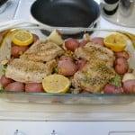 Weeknight Lemon Pork Dinner