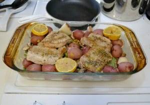 Weeknight Lemon Pork Dinner