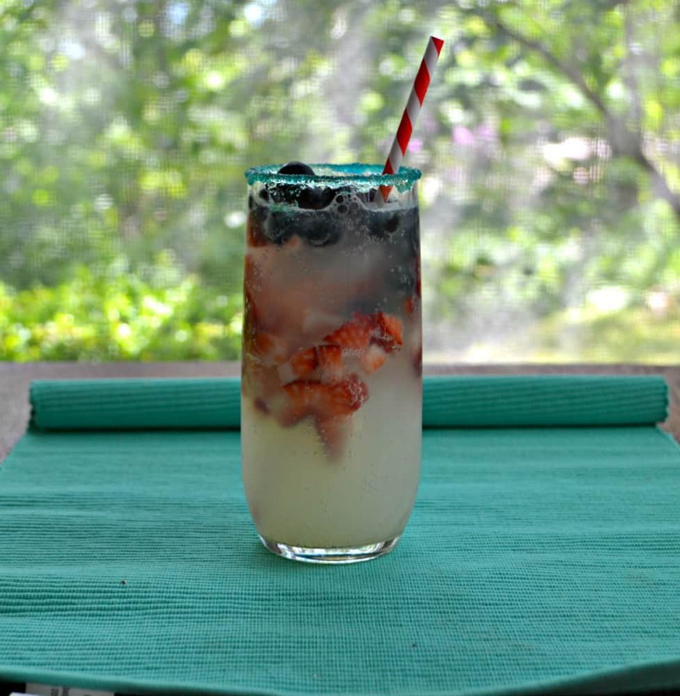 Red, White, and Blue Lemonade is perfect for your patriotic holidays.