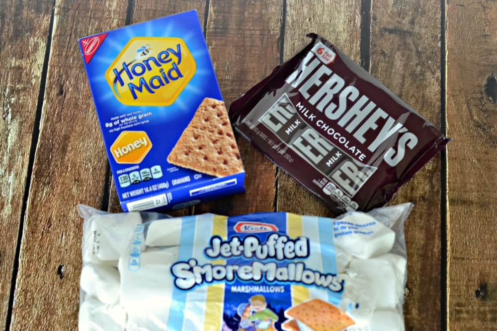 Everything you need to make delicious S'mores