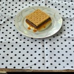 Easy Salted Caramel S'mores Made Indoors!