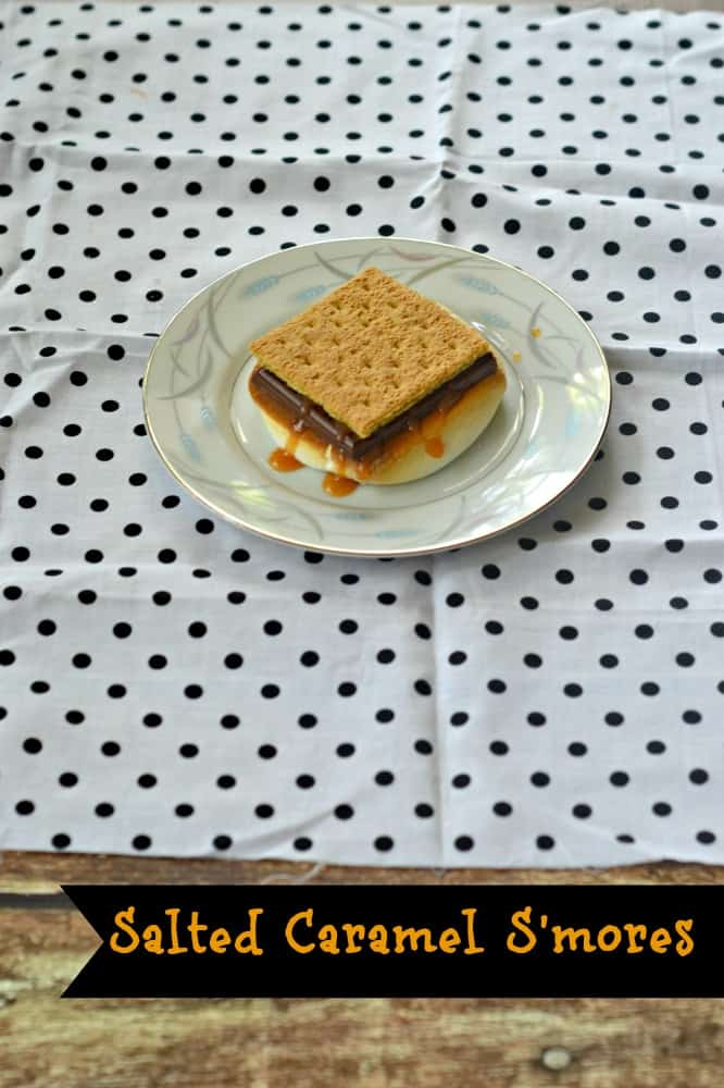 Gourmet Salted Caramel S'mores are ready in just 10 minutes!
