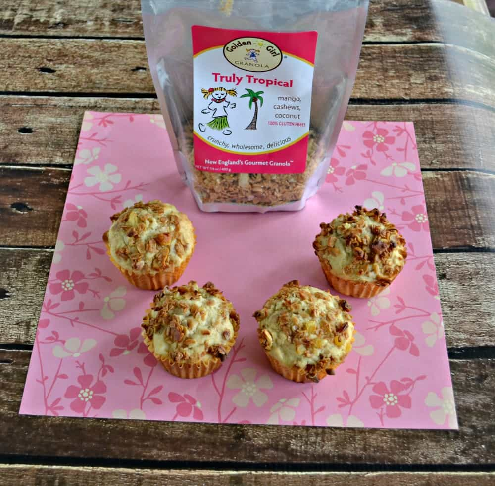 Tropical Granola Muffins are perfect for breakfast or a treat