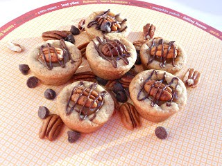 Turtle Cookie Cups are one of the best cookies I've ever tasted....and they are easy to make!