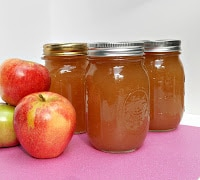 Apple Butter Recipe.   A great way to preserve apples all year long!