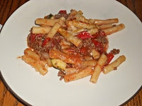 Muir Glen Baked Ziti with Fire Roasted Tomatoes