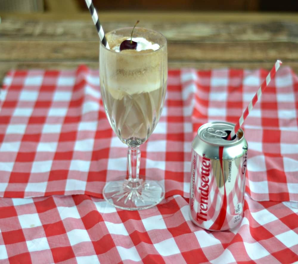 Diet Coke Float Cocktails are an adult treat perfect for summer get togethers!