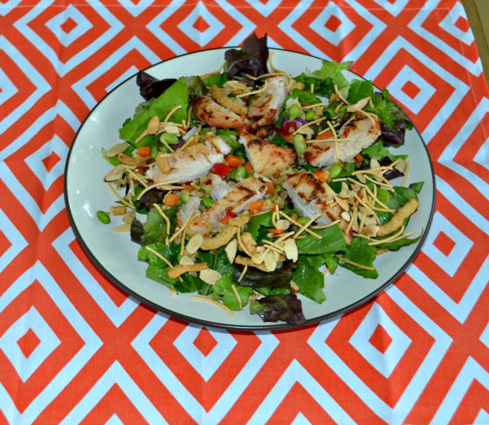 Quick and Easy Asian Grilled Chicken Salad