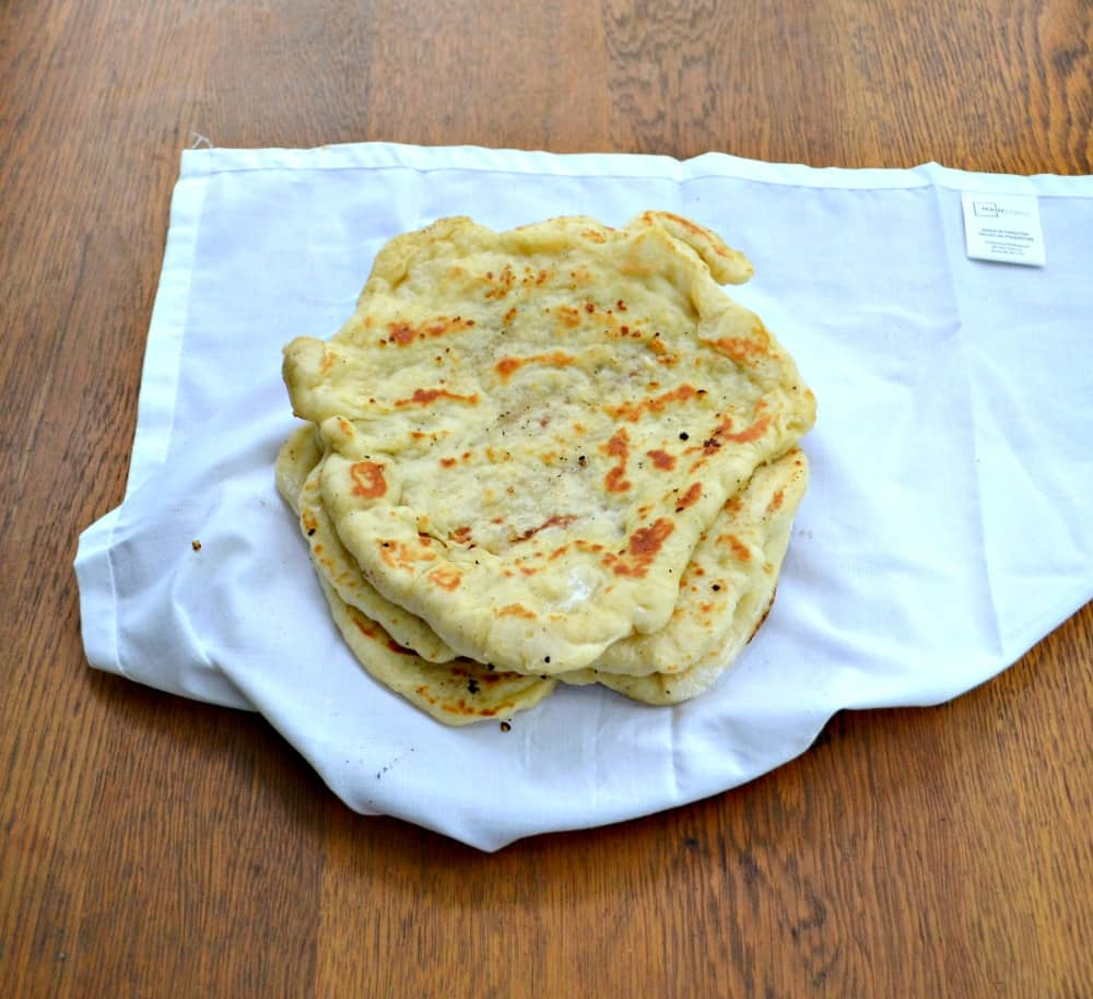 Naan is a delicious flatbread that can be eaten alone, used for pizza, or used for a wrap/sandwich