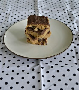 No Bake Chocolate Chip Cookie Dough Bars + My Favorite Cooking Tools