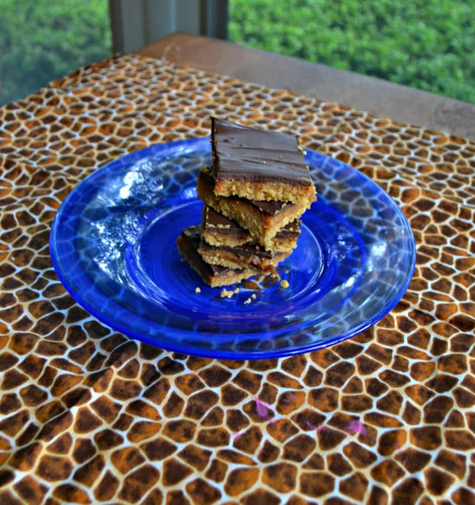 No Bake Millionaire Shortbread cookies layer a cookie crust, homemade caramel, and chocolate into one awesome cookie recipe