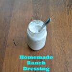 Buttermilk and Greek Yogurt Ranch Dressing :  CSA Wednesdays