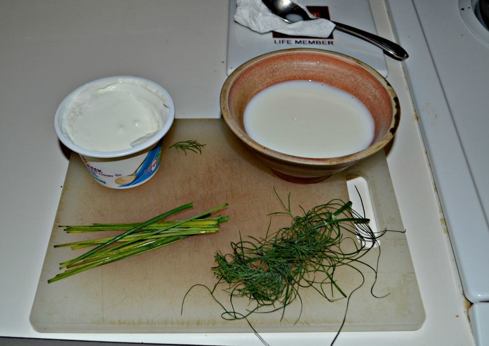 Buttermilk and Greek yogurt make a tangy and tasty Homemade Ranch Dressing Recipe