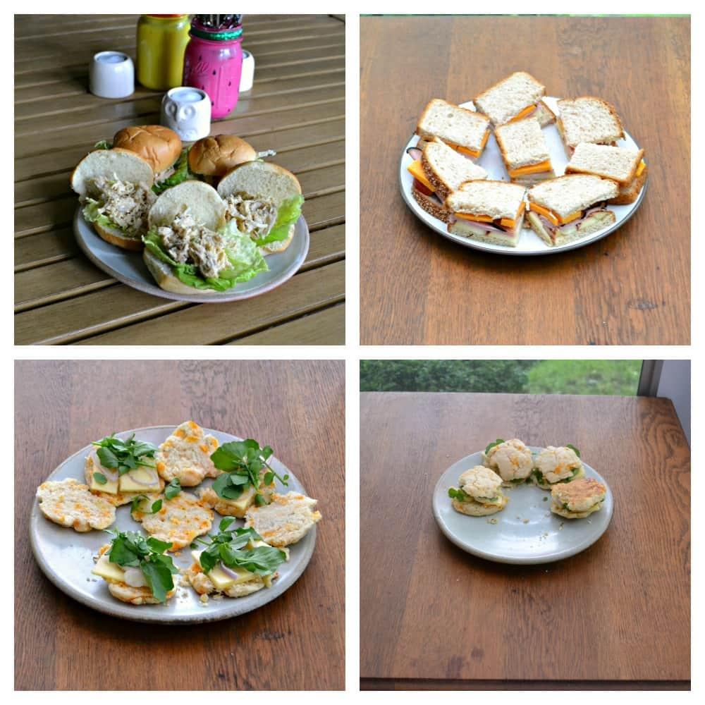 A variety of tea sandwiches makes any tea party a success!   Check out recipes for all three of my tea sandwiches