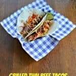 Grilled Thai Beef Tacos