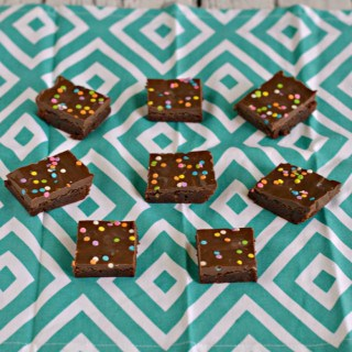 Cosmic Brownies are a fun treat for lunch boxes or for dessert
