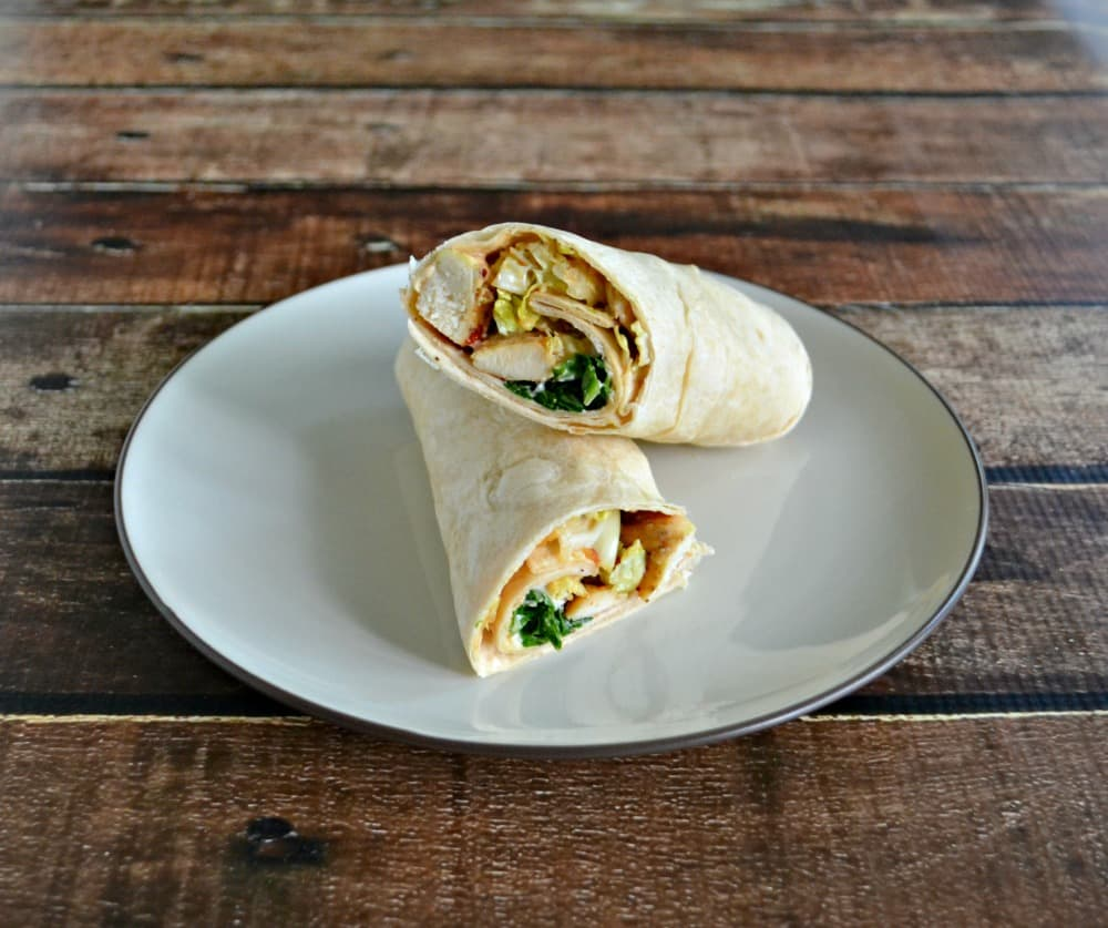 Amazing Asian Chicken Wraps are simple to make and delicious!