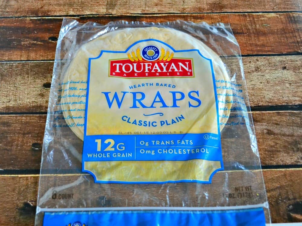 Toufayan Wraps are perfect for stuffing!