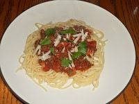 A traditional Bolognese Sauce