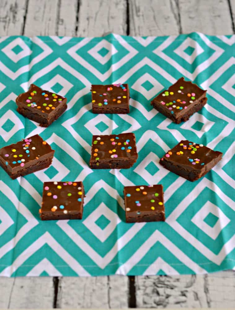 Cosmic Brownies are a fun dessert or snack