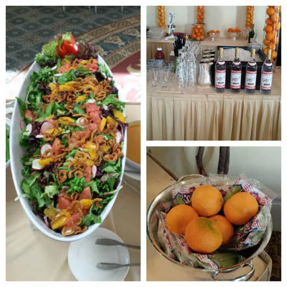 Breakfast with Duda Farm Fresh Foods at  Food and Wine Conference 2015