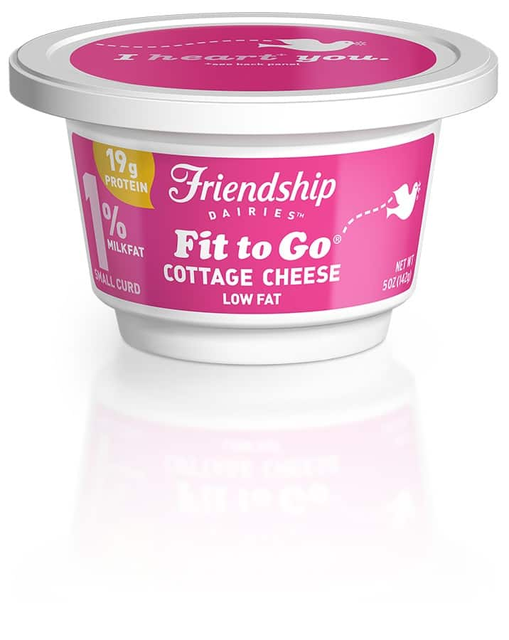 Friendship Dairies Cottage CHeese to Go