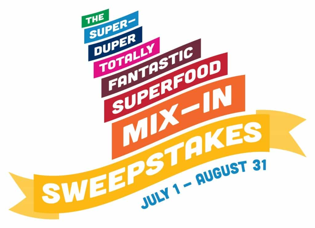The super duper Superfood Mix-in sweepstakes