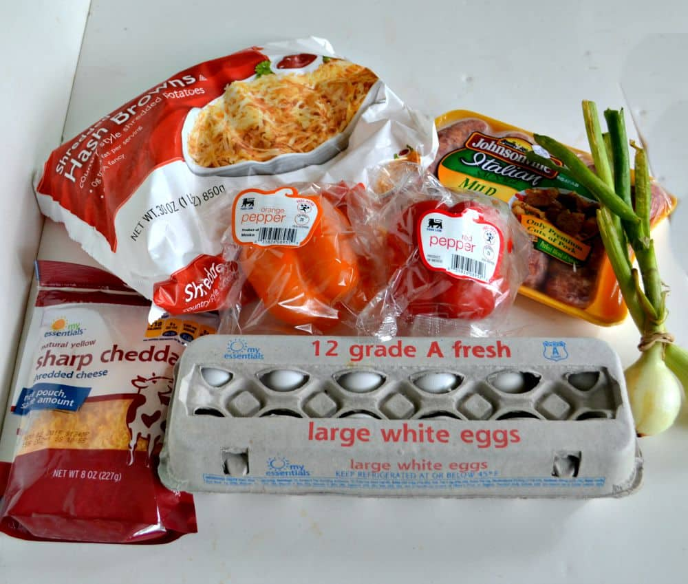 Everything you need for a Hash Brown Crusted Breakfast Quiche from Food Lion