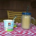 Iced Coffee and Quaker Real Medleys Yogurt Cups