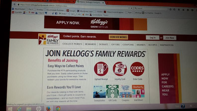 Kellogg's Family Rewards gets you free books!