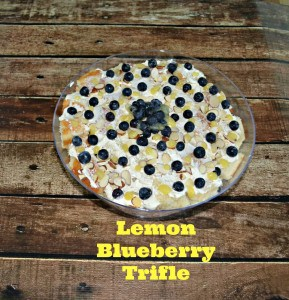 Lemon Blueberry Trifle + A Reader's Gift Set