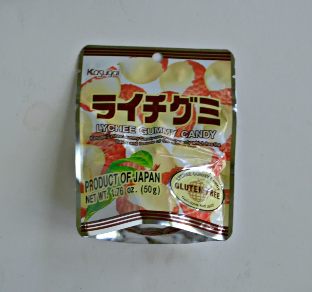Try the World Japan:  Lychee Gummies