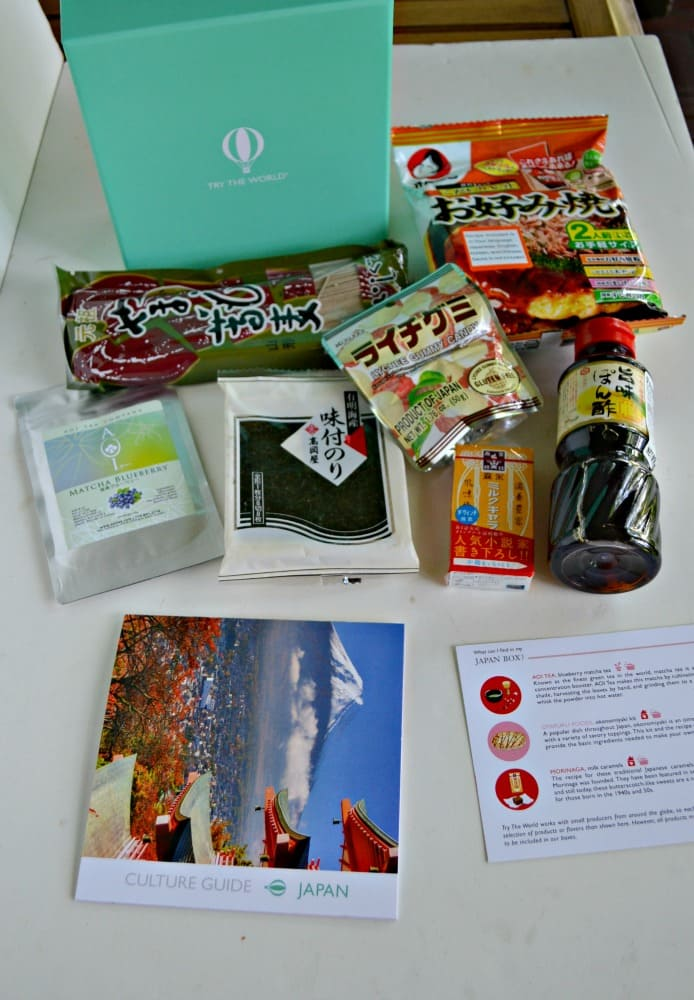 Try The World Subscription Box:  Japan
