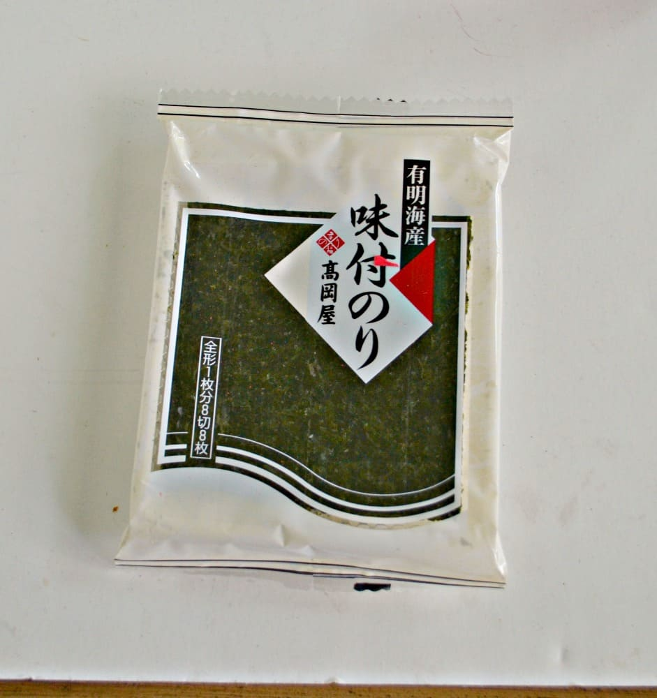 Try the World Japan:  Seaweed Snack