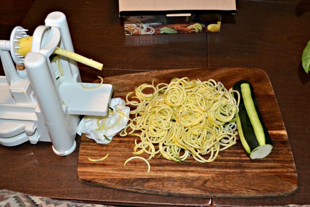 Zucchini and Squash make delicious zoodles!