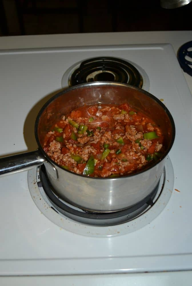 Tasty Vegetable Meatsauce is a great way to introduce vegetables to picky eaters!