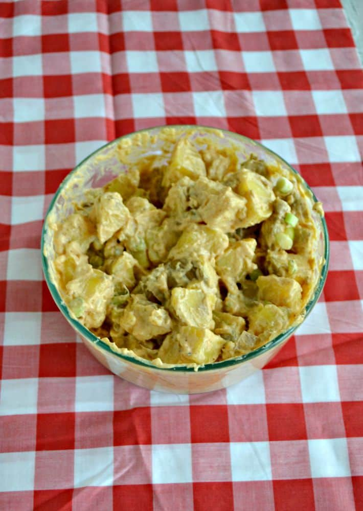 Loaded Barbecue Potato Salad