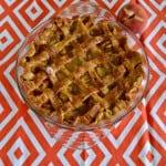 Brown Sugar and Bourbon Peach Pie