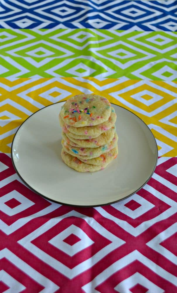 Funfetti Cookies are colorful and delicious!