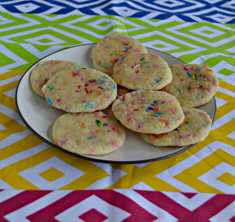 Kids will love these Funfetti Cookies!