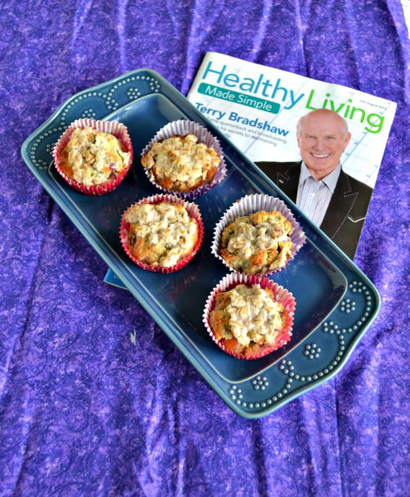 Gluten Free Blackberry Plum Muffins and Healthy Living Made Simple Magazine