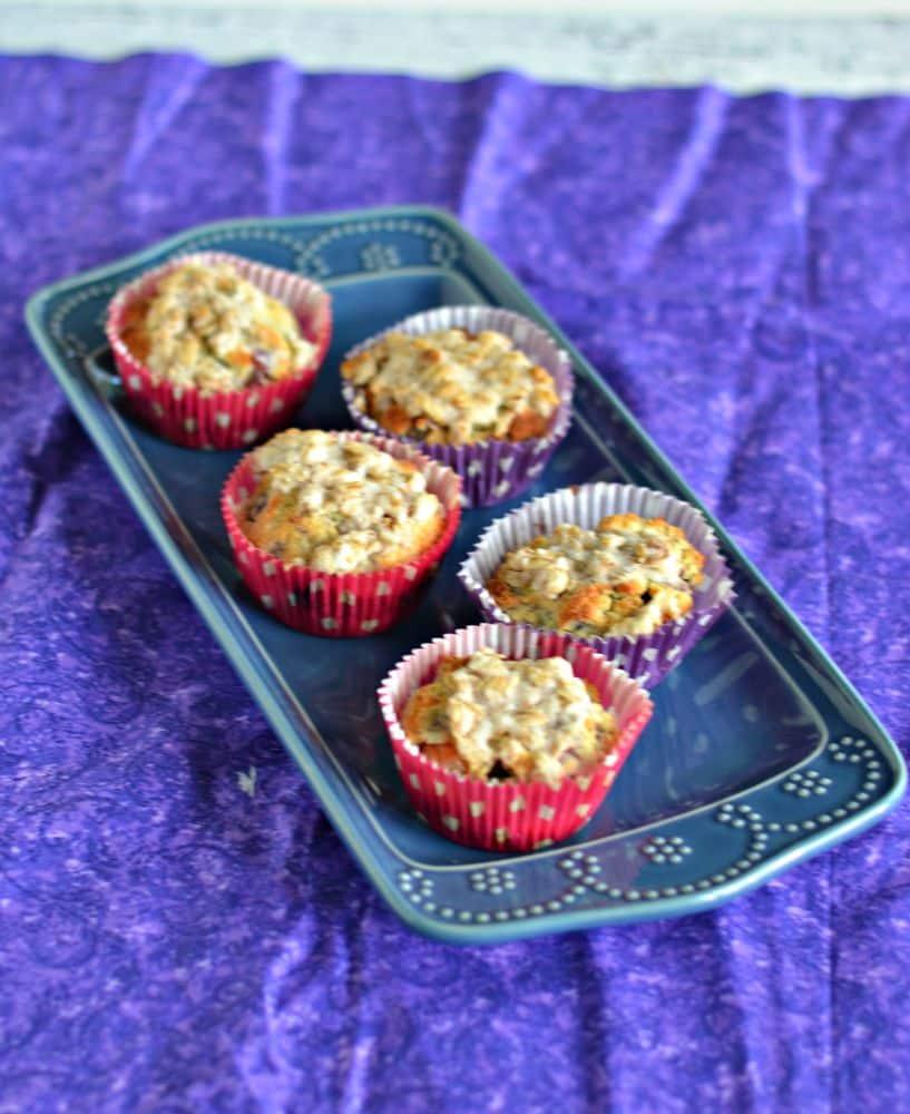 Gluten Free Blackberry Plum Muffins